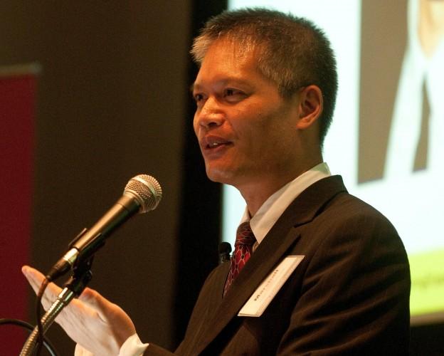 Marshall Chin presenting